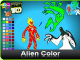 Ben 10 Alien Color