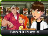 Ben 10 Puzzle Online Game
