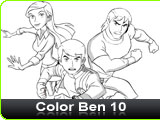Color Ben 10